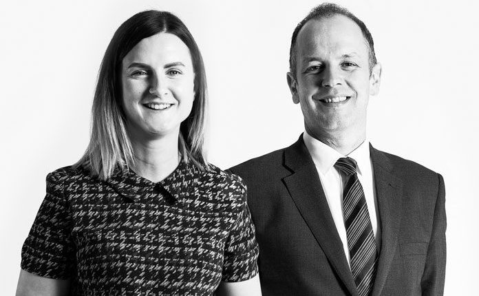 Image of Graham Hawthorn, Managing Director and Kate O'Neill, Graduate Recruitment Lead who discuss CHASE's support of the pharma graduate talent pool.