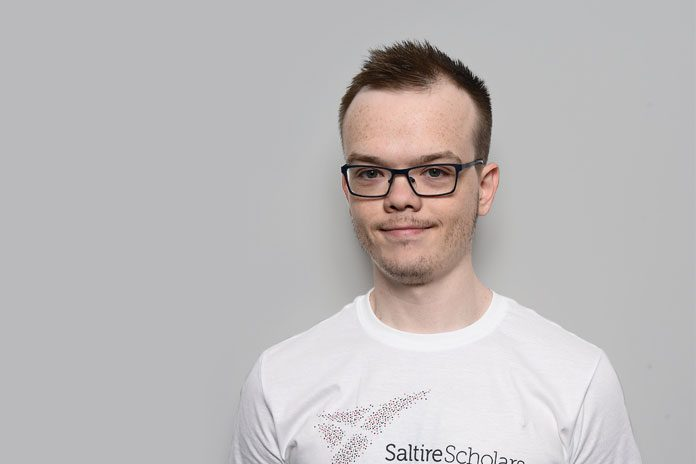 Image of Dylan Nichol for his Pharma Graduate Profile: he is an App Developer at AstraZeneca studying Computer Games and Software Development.